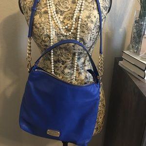 Michael Kors Electric Blue Crossbody Handbag